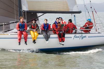 Berkeley Yacht Club Midwinter Regatta day 2, 12/10/06