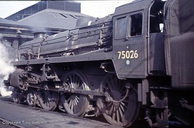75025-75029 Built 1954 Swindon