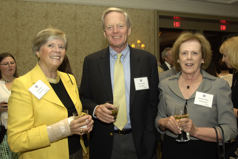 Alison Small with trustee Peter Small and Marianne Carbine