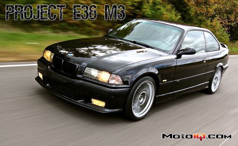 Project E36 M3: Part 2 - Wheel Studs, Motorsport Bracing and... Cup Holders?