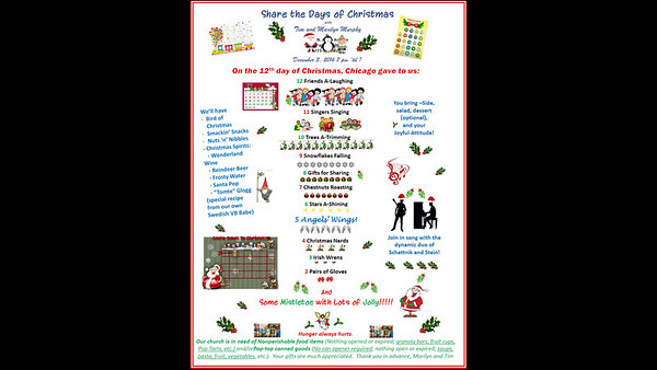 20161203 Share the Days of Christmas