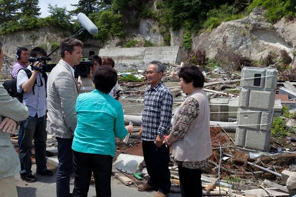 Event 2011 HRH Crown Prince Frederik Higashi-Matsushima People