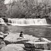 Michael at Hooker Falls