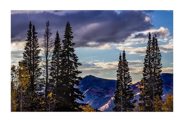 Big Cottonwood Canyon, Utah in Fall