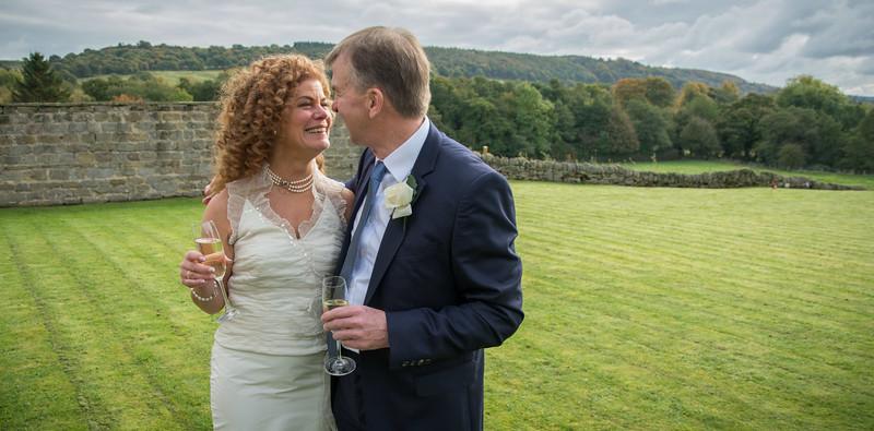 Gina and Huw Wedding The Cavendish Hotel Baslow