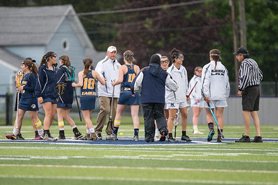 Wayne Eagles Girls Varsity Lacrosse at Mynderse Sectionals 5-21-16