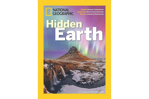 Hidden Earth Book Publication by National Geographic