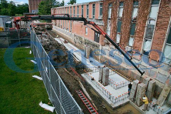 June 5 2012 - Concrete in ditch