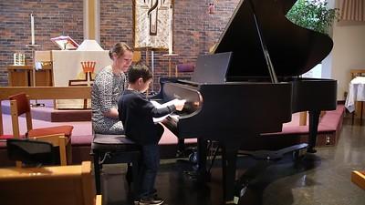 Sam's 4th Piano Recital 110417