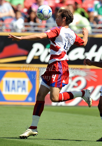 29, March 2009:  FC Dallas defender Daniel Torres #4in action during the soccer game between FC Dallas & Chivas USA at the Pizza Hut Stadium in Frisco,TX. Chivas USA  beat FC Dallas 2-0.Manny Flores/Icon SMI