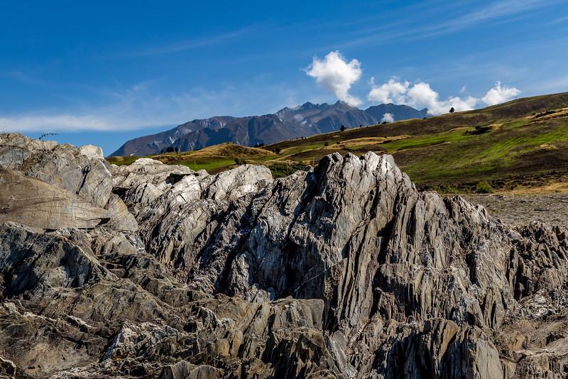 Steinformation an der «Bottom Bay»