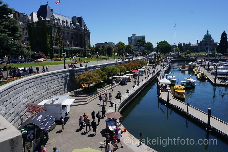 Causeway in Victoria's Inner Harbour