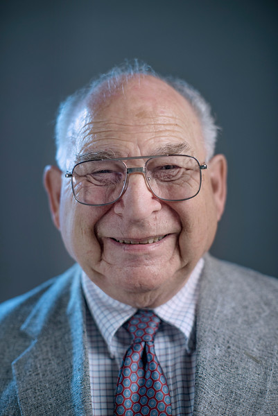 Dr. James O. Haehn, retired faculty, is photographed for College of Behavioral and Social Sciences Vanguard Magazine in the CMT photo studio Tuesday, September 30, 2014 in Chico, Calif.  (Jason Halley/University Photographer)