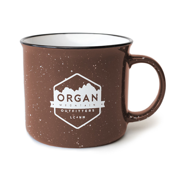 Outdoor Apparel - Organ Mountain Outfitters - Bottles and Mugs - Ceramic Mug - Speckled - 15 oz - Brown.jpg