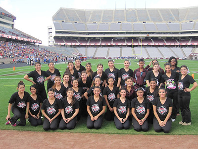 Celebrities at Kyle Field, Dec. 2012