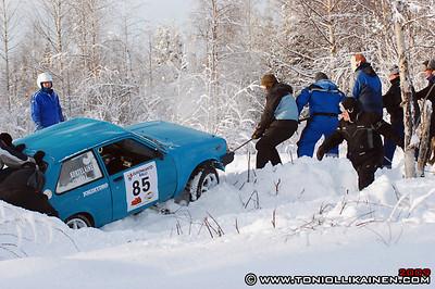 31.01.2009 | Eukonkanto ralli, Sonkajärvi