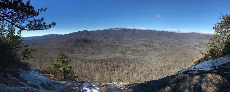 Cedar Rock Mountain, Transylvania County (1-13-18)