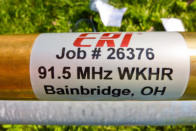 WKHR New Antenna 8/30/10