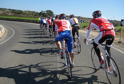 Cycling training Majorca, Spain