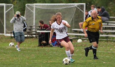 Varsity Girls Soccer vs New Milford - 10/18/2014