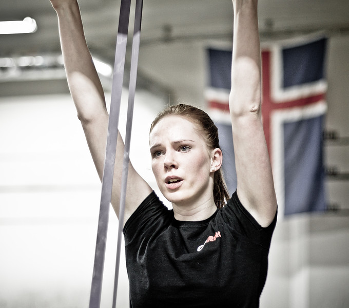 A day of christmas in Crossfit Reykjavik
