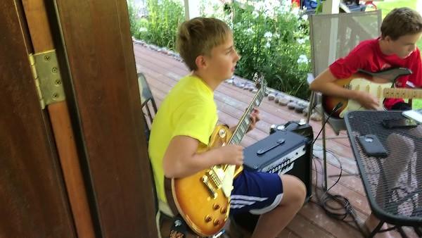 2017_08_20 Guitar Jam Group