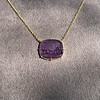 'Push Along' Purple Glass Pendant, by Seal & Scribe 23