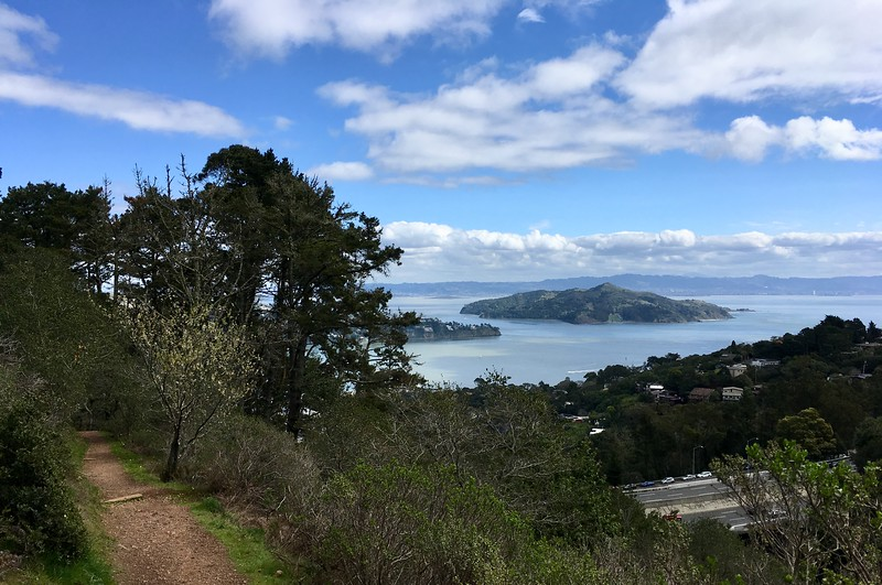 Angel Island from the Morning Sun trail
