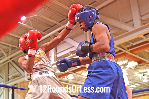 Bout 5 Taloun Nedd, Blue Gloves, Soul City, Toledo -vs- Gerrail Miller, Red Gloves, OTR, Cinci, 132 Lbs, 14-15 Yrs