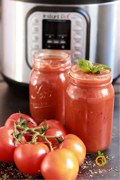 Vegan Marinara Sauce (Instant Pot)