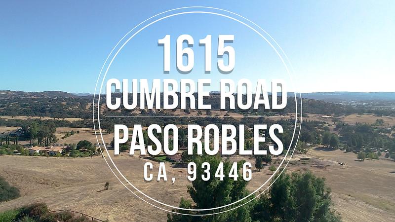 1615 Cumbre Road, Paso Robles, CA 93446 Branded.mp4