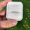 1.47ctw Carre Cut Diamond Pair GIA F VS2 27