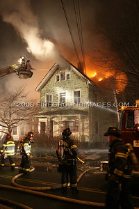 Wells St. Fire (Bridgeport, CT) 12/21/07