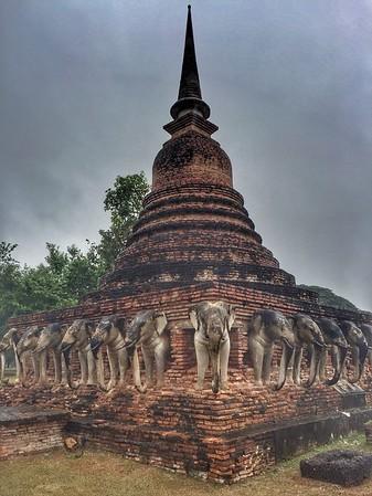 7- elephant temple
