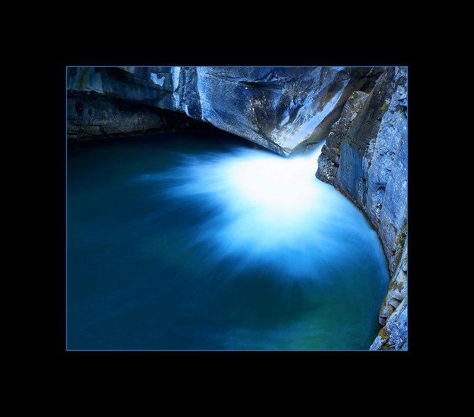 Lower Falls, Johnston Canyon, Banff National Park