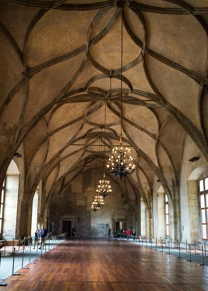 Prague Castle, Old Palace, former riding hall