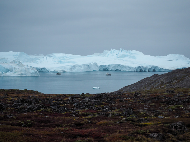 Ilulissat Icefjord in Greenland