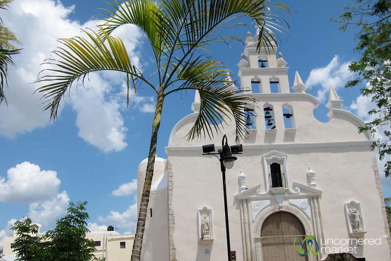 Santiago Church in Merida, Mexico