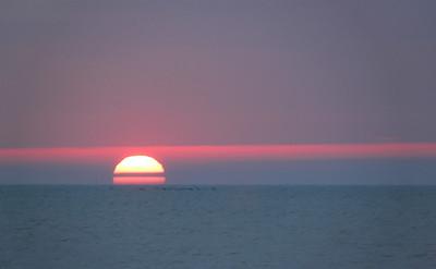 On the Beach - Sunrise, Sunset