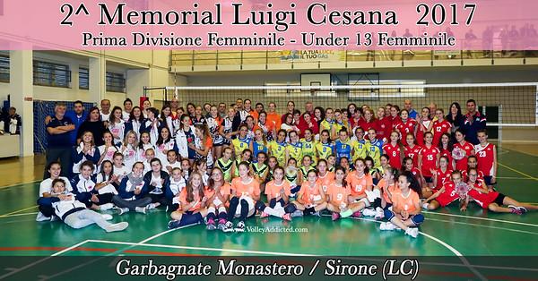 2 Memorial Luigi Cesana 2017