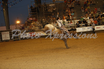 Saddle Bronc Riding Sat 12th