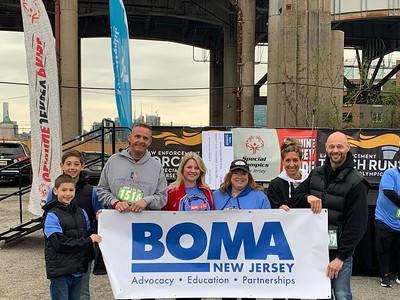 BOMA Special Olympics Tunnel Run