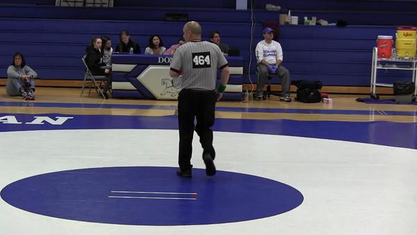 2012 MRHS Video of Varsity Wrestling at Monsignor Donovan