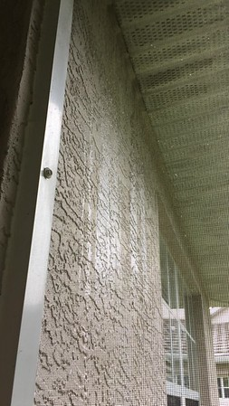 Soffit leaking