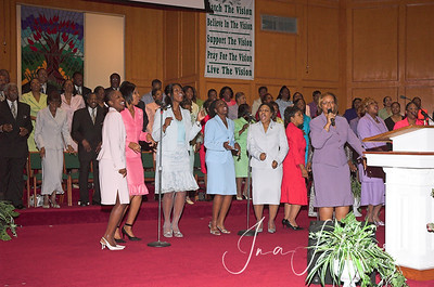 Pastor Jones' 25th Anniversary Service