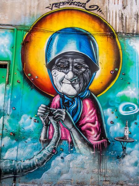 Granma graffity