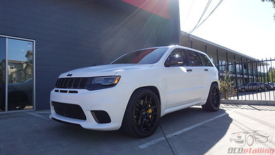 2018 Jeep Cherokee Trackhawk - XPEL Stealth - White