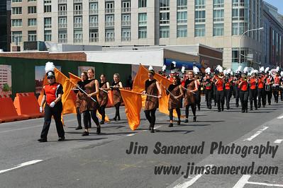 WPHS Marching Band at Memorial Day Parade