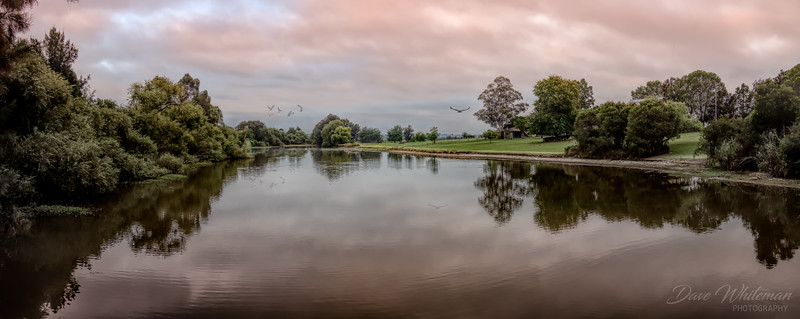 Dawn Over the Lagoon