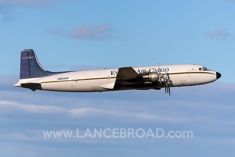 Everts Air Cargo DC-6 - N9056R - ANC